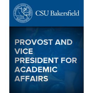 CSUB Office of the Provost and Vice President for Academic Affairs
